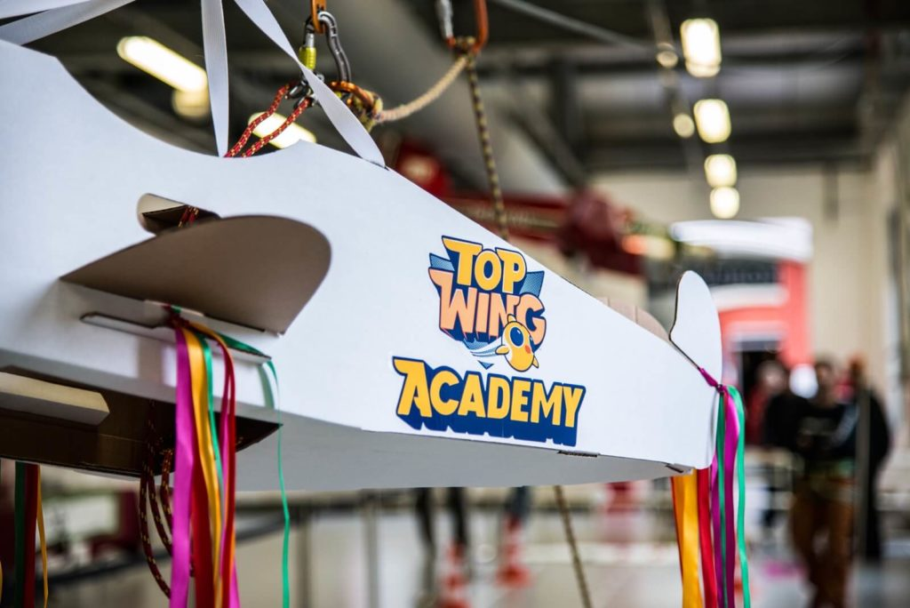 Top Wing Academy launch event for Full Swing