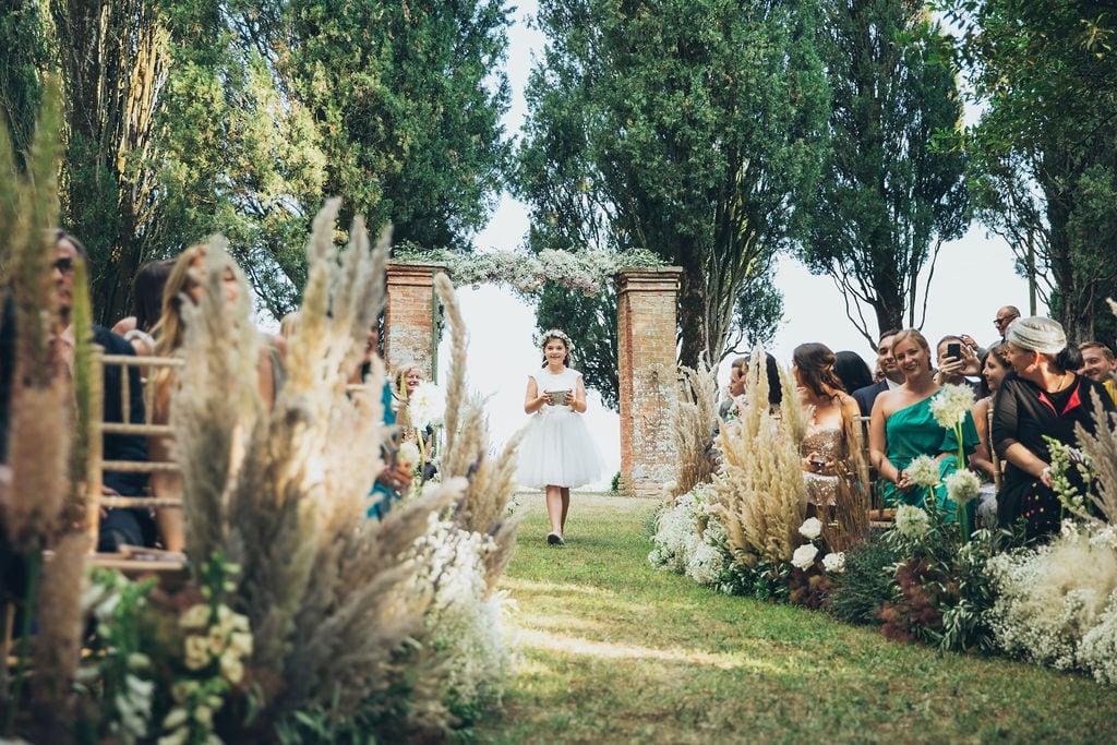 outdoor wedding planner in buonconvento siena