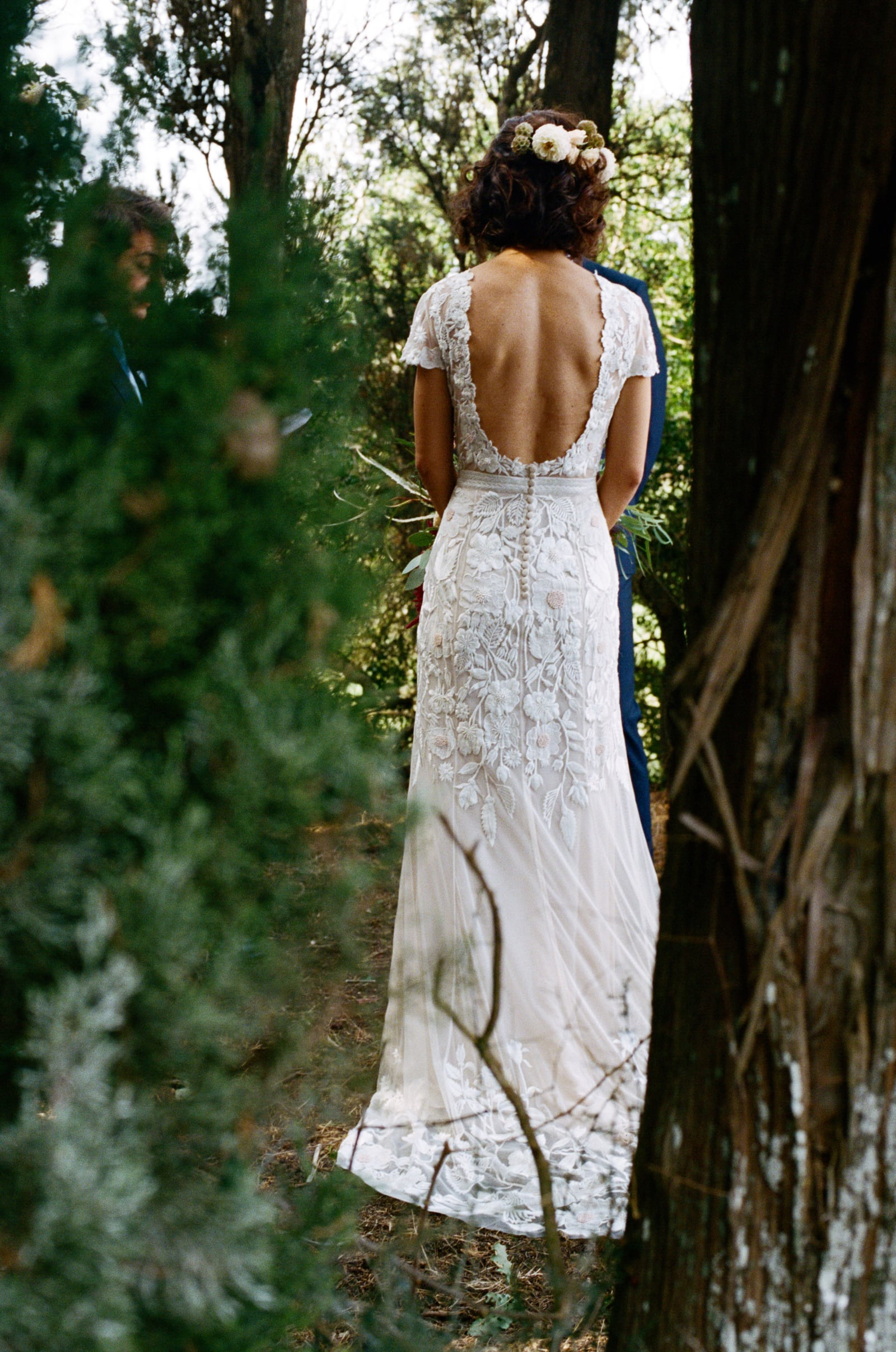 wedding dress in monteriggioni siena