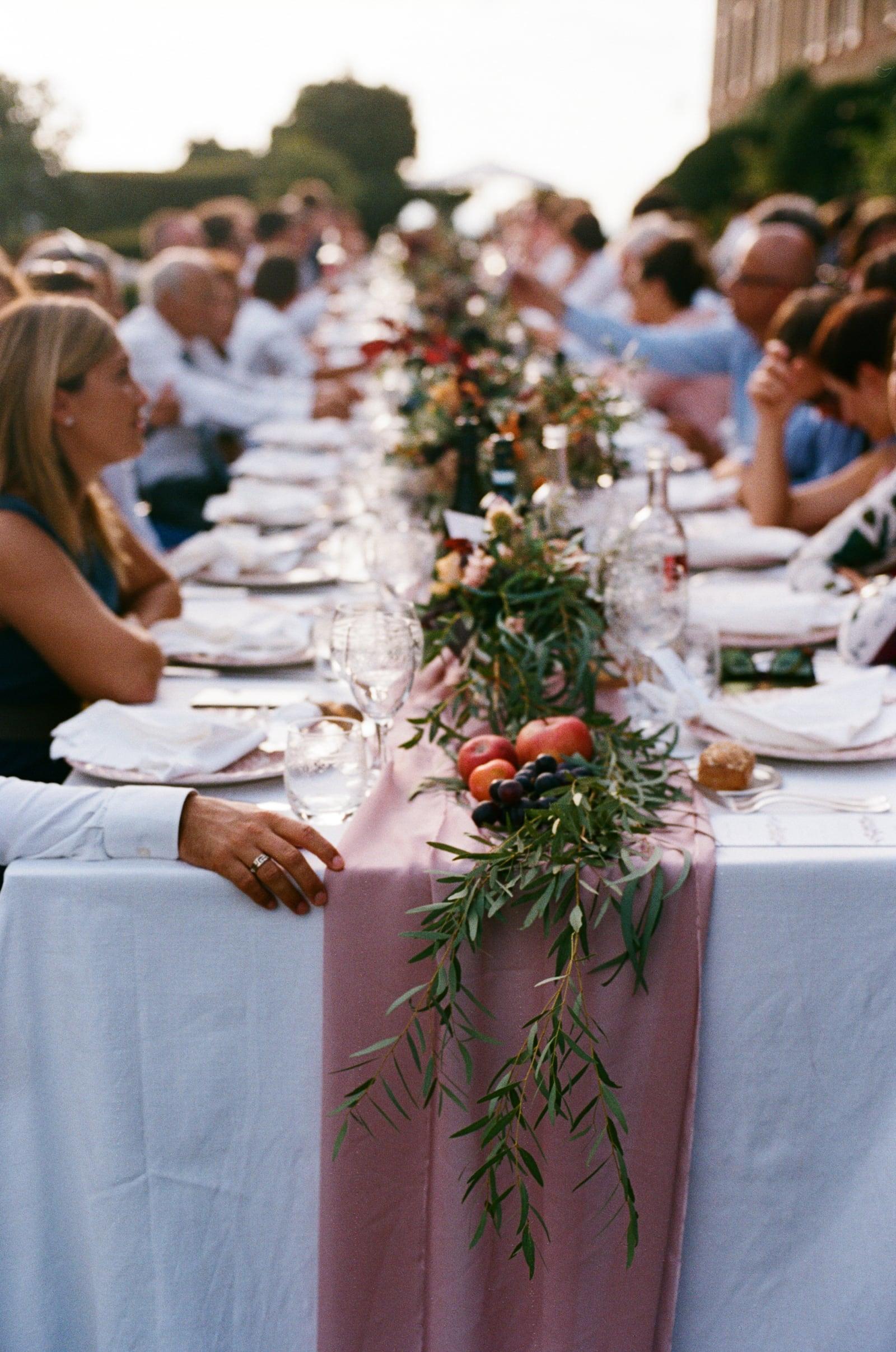 wedding banquet in monteriggioni siena