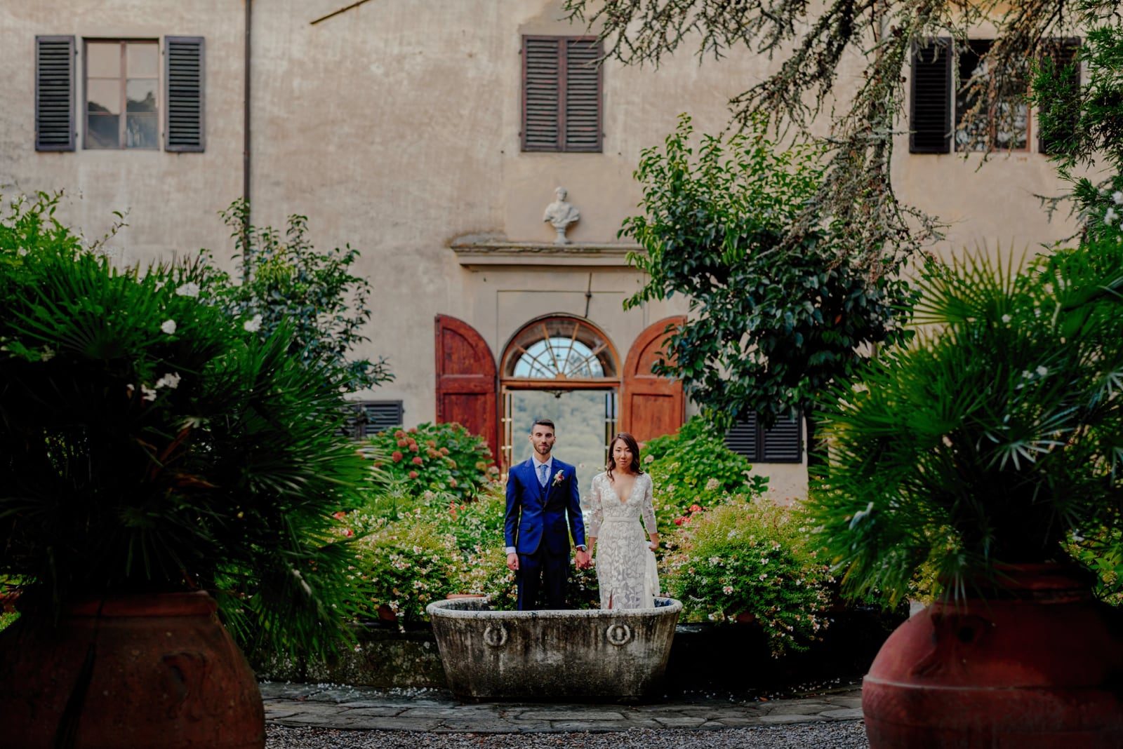 wedding planner in villa medicea di lilliano florence