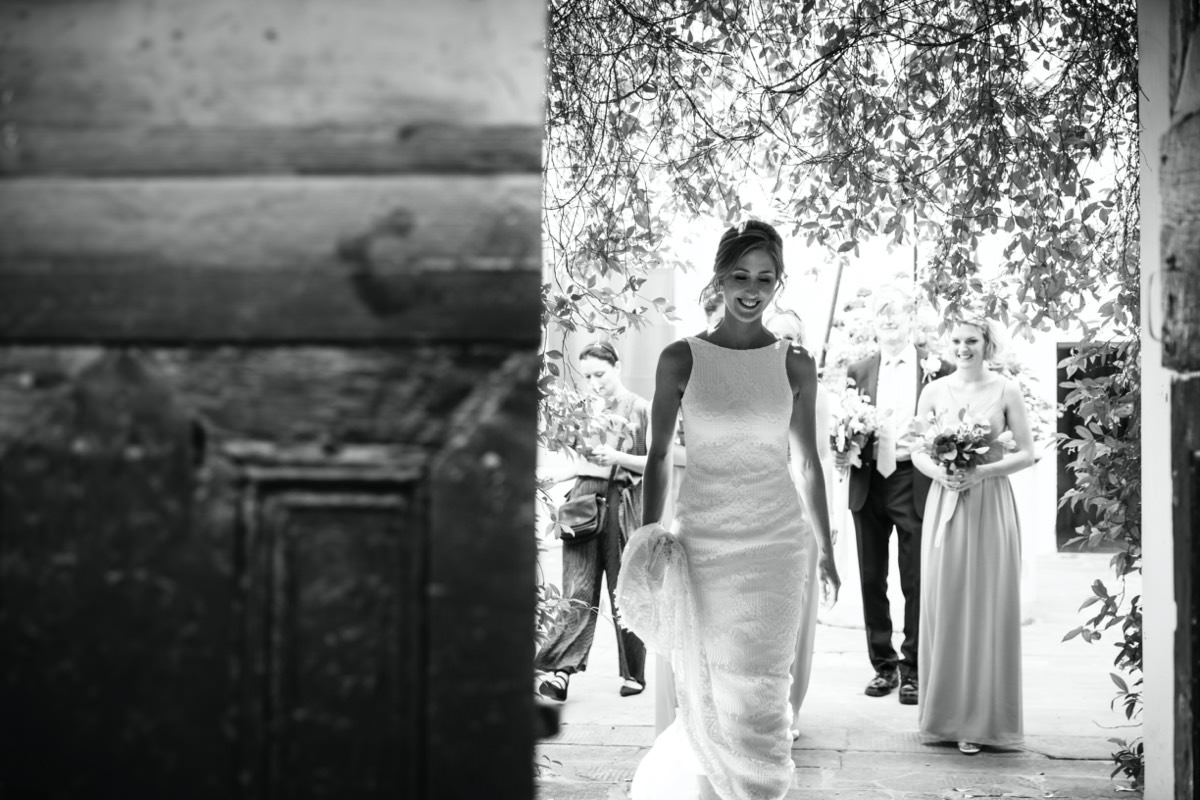 Destination Wedding In Tuscany: Alison & Alex by OLIVIA SODI