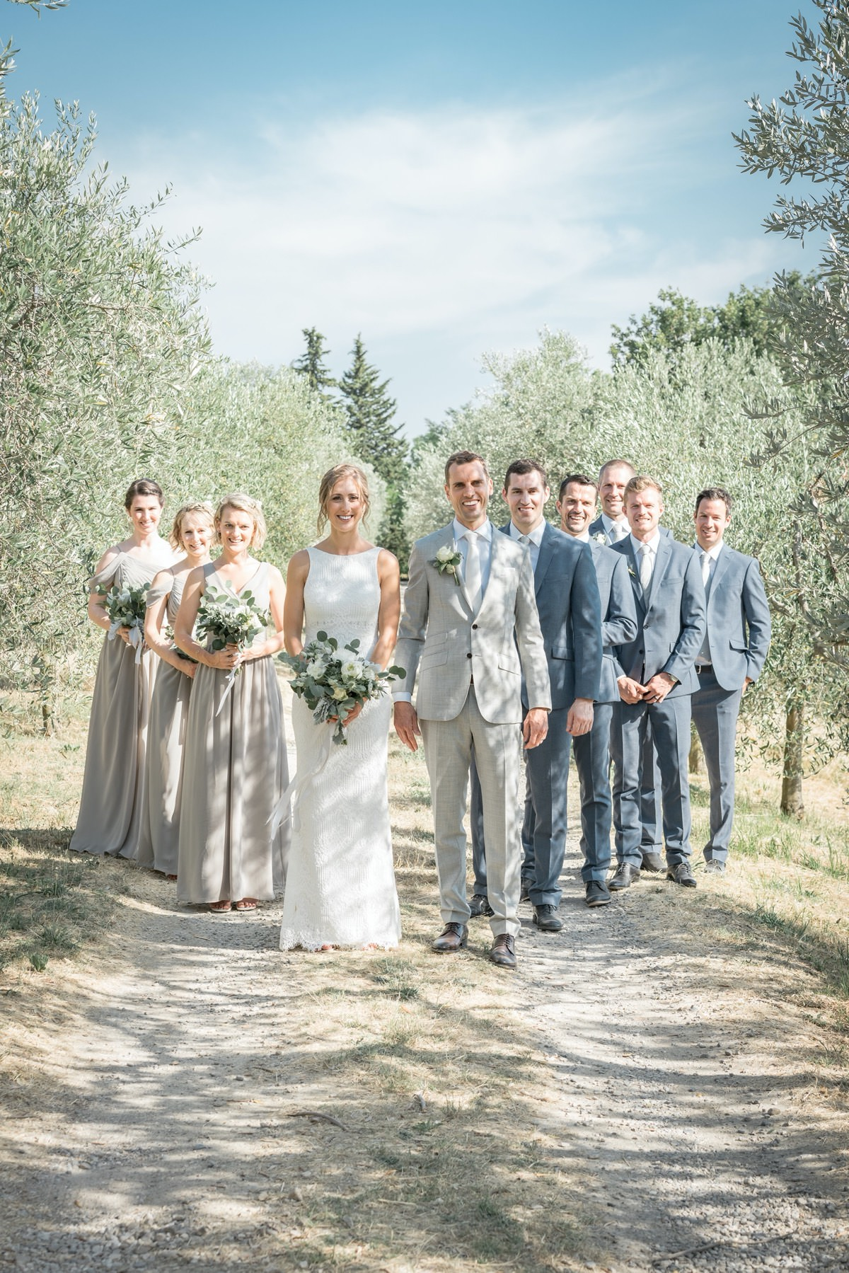 A fairy destination wedding in Tuscany on Florence hills: Alison & Alex