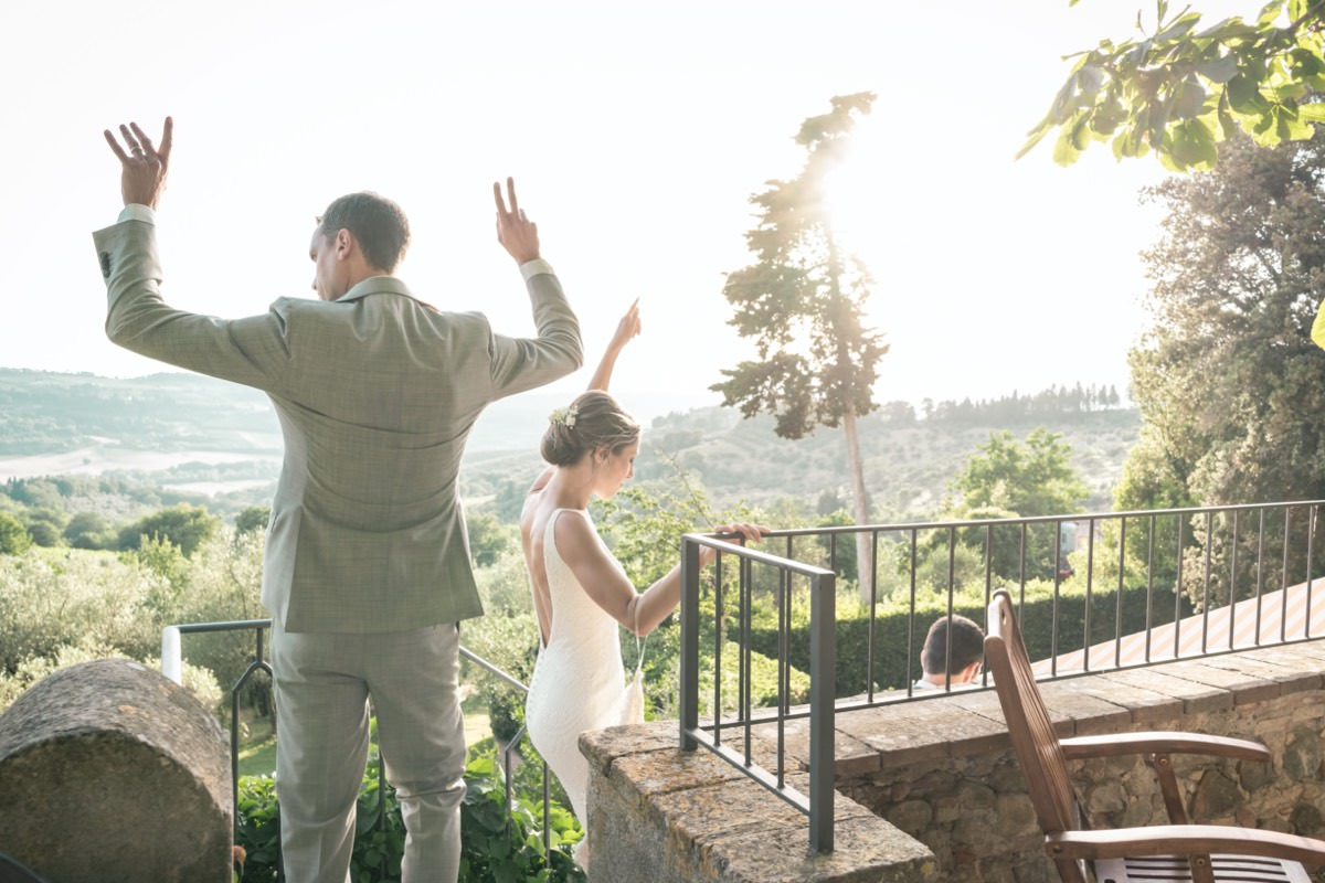 Alison & Alex : Destination Wedding In Tuscany