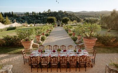 Styled Shoot: Tuscan Sunset Inspiration shoot