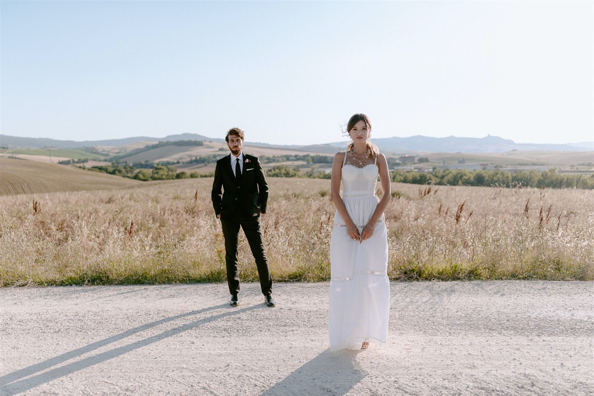 Styled Shoot: Wildflower Intimate Wedding Inspiration in Tuscany