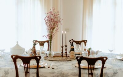 Venue styling and decor for a property website restyling.