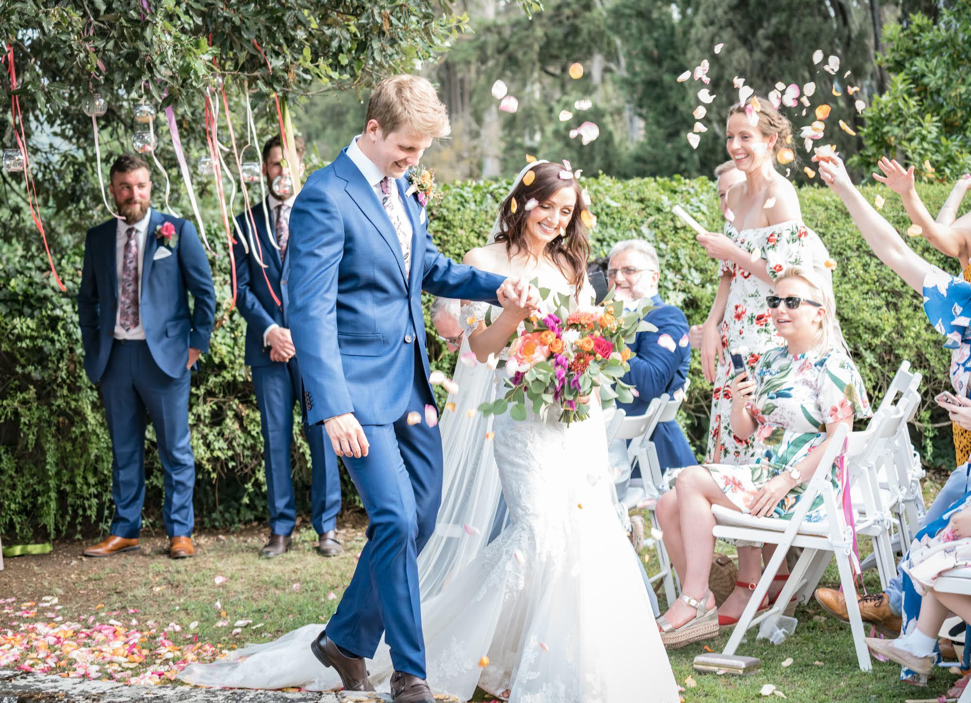 Lauren & Paul: Destination wedding in Tuscany